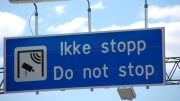 Toll roads sign