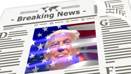 Trump news headline