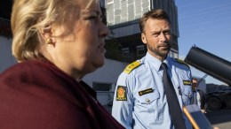 Eastern Police District Erna Solberg Steven Hasseldal
