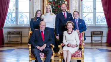 Royal Family, Kongsseteren, Christmas 2018