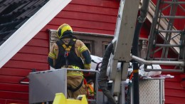 Murder Fire Haugesund detached house