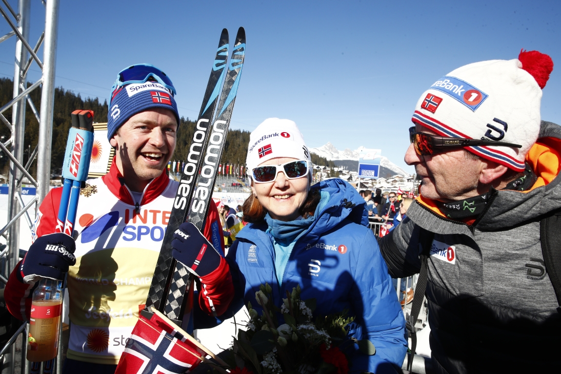 Gold medals to Johaug and Røthe