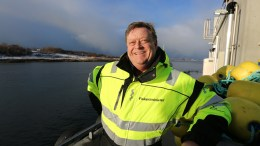 Norwegian Minister of Fisheries, Harald T. Nesvik redbait