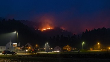 Sokndal Forest Fire Rogaland