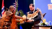 Crown Prince Haakon visits Fiji