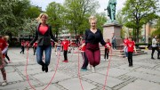 skipping rope competition