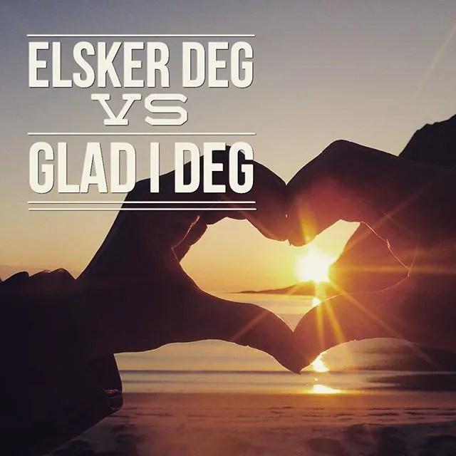 Flirting in Norwegian.Elsker deg eller glad i deg
