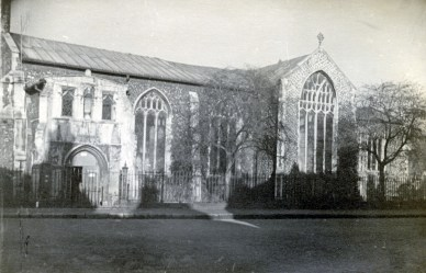 St Mary Coslany, 1943 (Todhunter Collection)