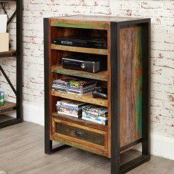 Reclaimed Wood Home Entertainment Unit