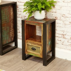 Reclaimed Wood Lamp Tables