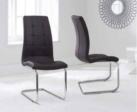 Lucy Brown Dining Chairs