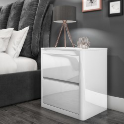 High Gloss Bedside Cabinets
