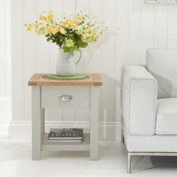 Sandringham Painted Lamp Table