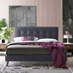 Fabric Double Bed Frames