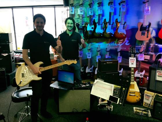 Guitar Shops in Norwich PMT | NGA Leigh & Ollie
