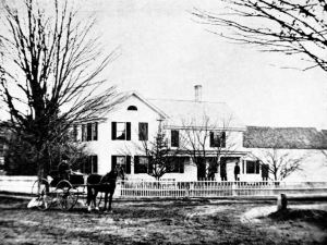 The Lewis House about 1880