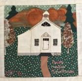 Beaver Meadow Schoolhouse. Ruth Peet, Quilter