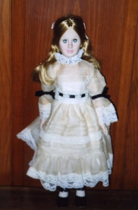 Self portrait doll of the artist, Dewees Cochran. In the collection at Norwich Historical Society.