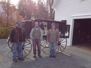 Hearse with Fred.John.Roger
