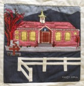 Tracy Hall. Sylvia Stockmayer, Quilter