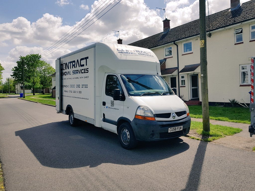 lovely-day-and-a-relatively-easy-job-to-raf-honington-today-removals-norwich-https-t-co-netvty4mh1