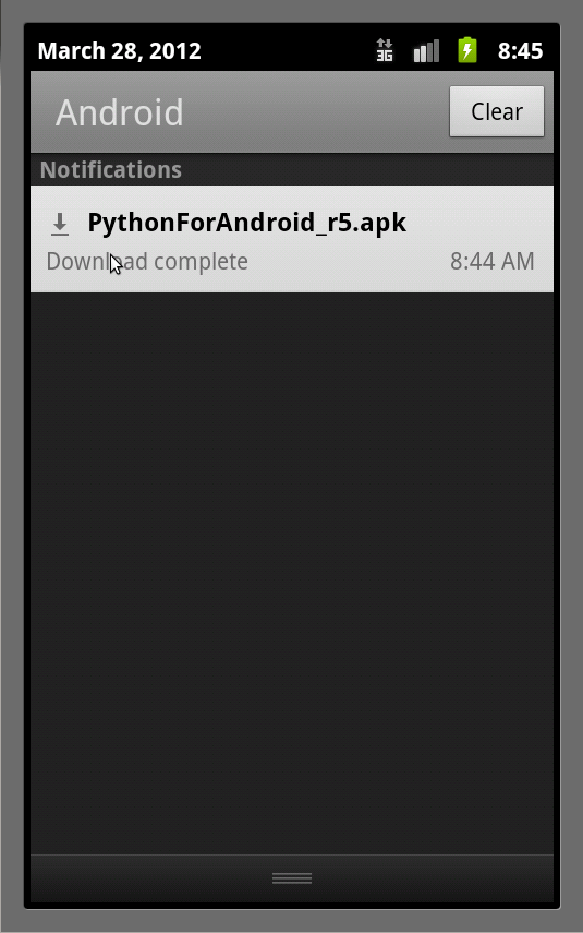 Scripting on Android (4/6)
