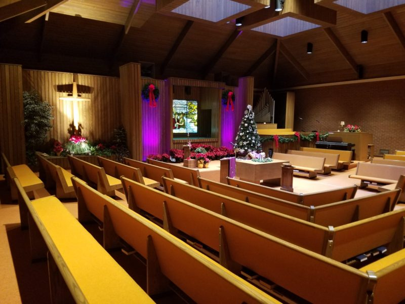 Norwood Christmas Church--Ready for Christmas