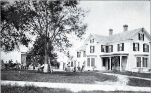 Photo of home of George H Morse, South Norwood, MA