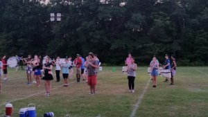 Marching Band Rehearsal @ Norwood High School | Norwood | Massachusetts | United States