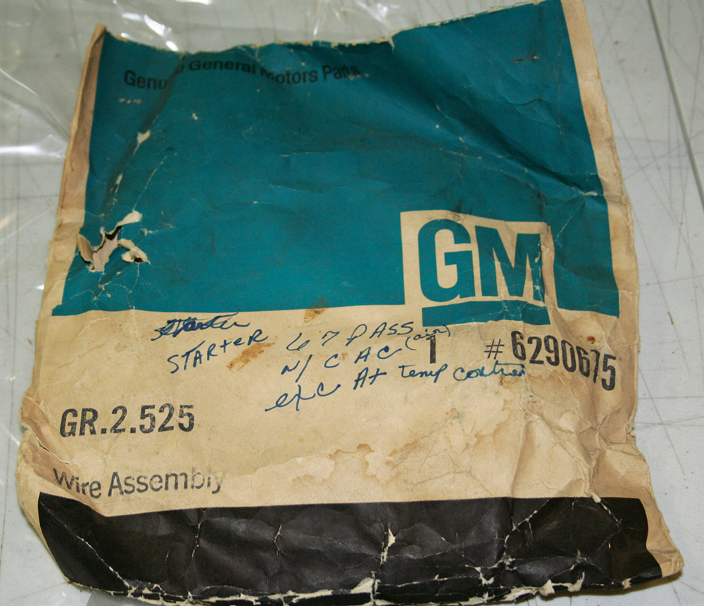 medium resolution of 1967 chevrolet engine harness v8 with cac nos ea
