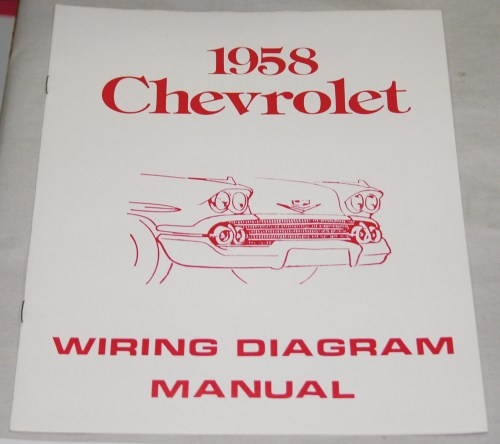 small resolution of 1958 chevrolet wiring diagram manual nos ea