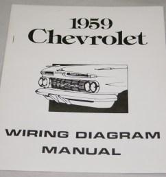 nos impala parts literature 1959 chevrolet wiring diagram1959 chevrolet wiring diagram manual nos  [ 1000 x 910 Pixel ]