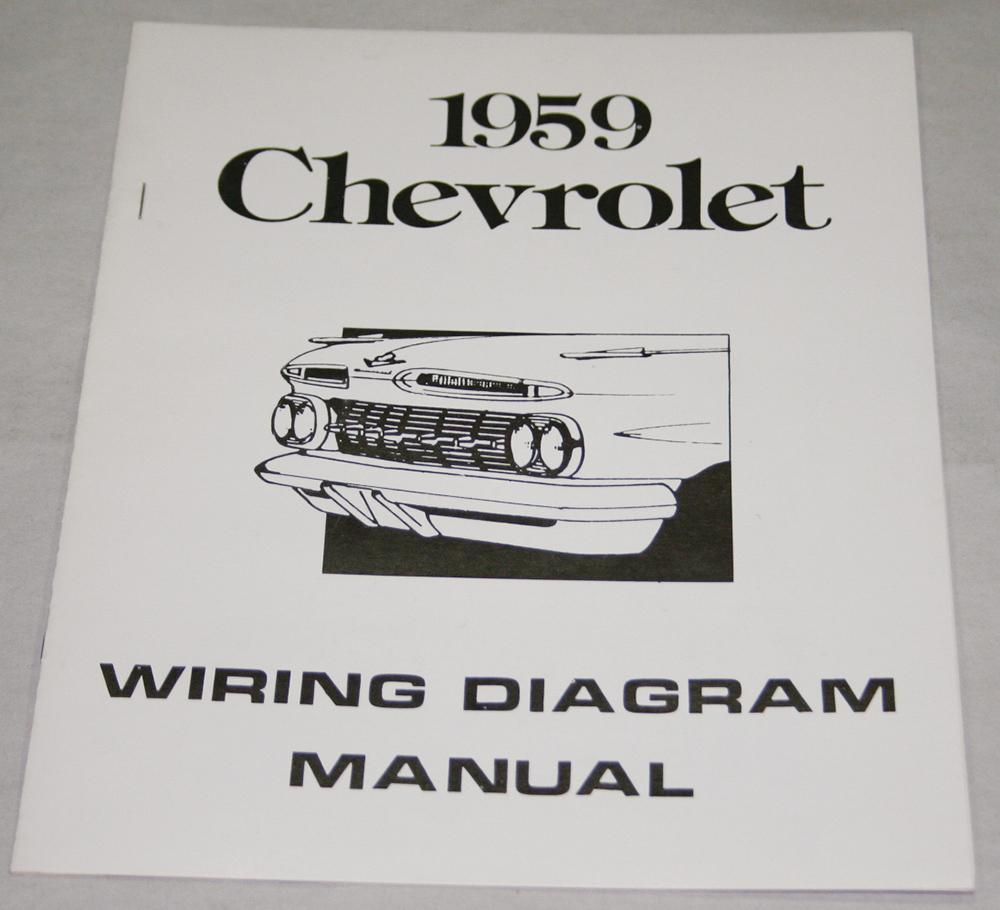 medium resolution of 1959 chevrolet wiring diagram manual nos ea
