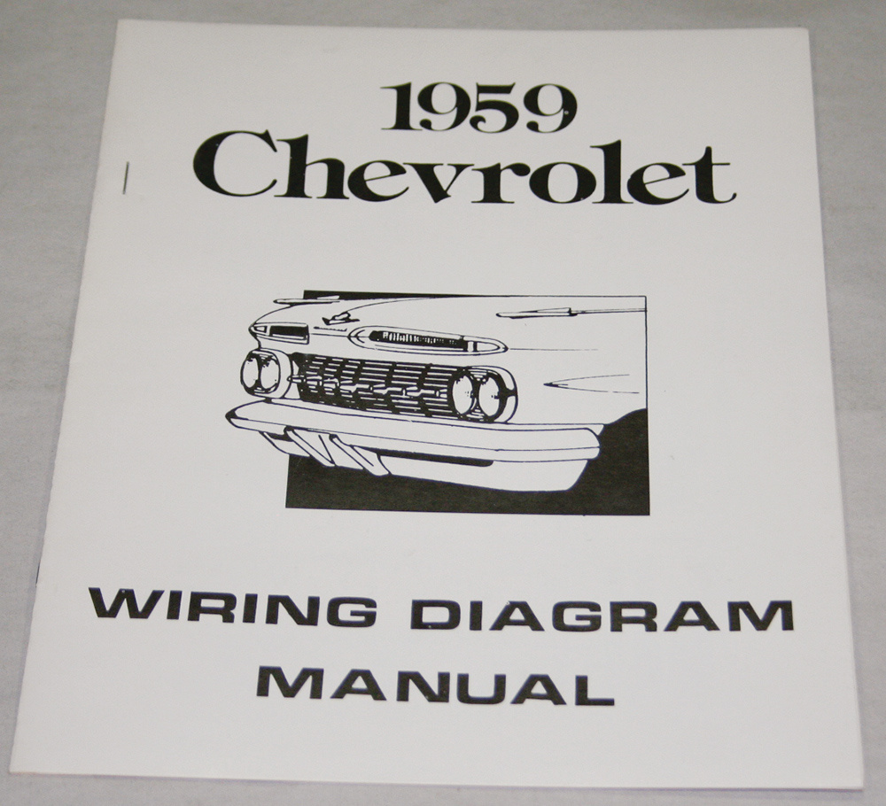 hight resolution of 1959 chevrolet wiring diagram manual nos ea