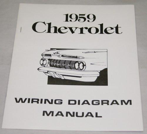 small resolution of 1959 chevrolet wiring diagram manual nos ea
