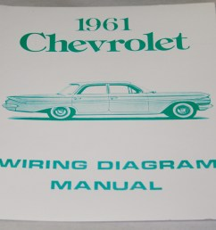 nos impala parts literature 1961 chevrolet wiring diagram1961 chevrolet wiring diagram manual nos  [ 1000 x 826 Pixel ]