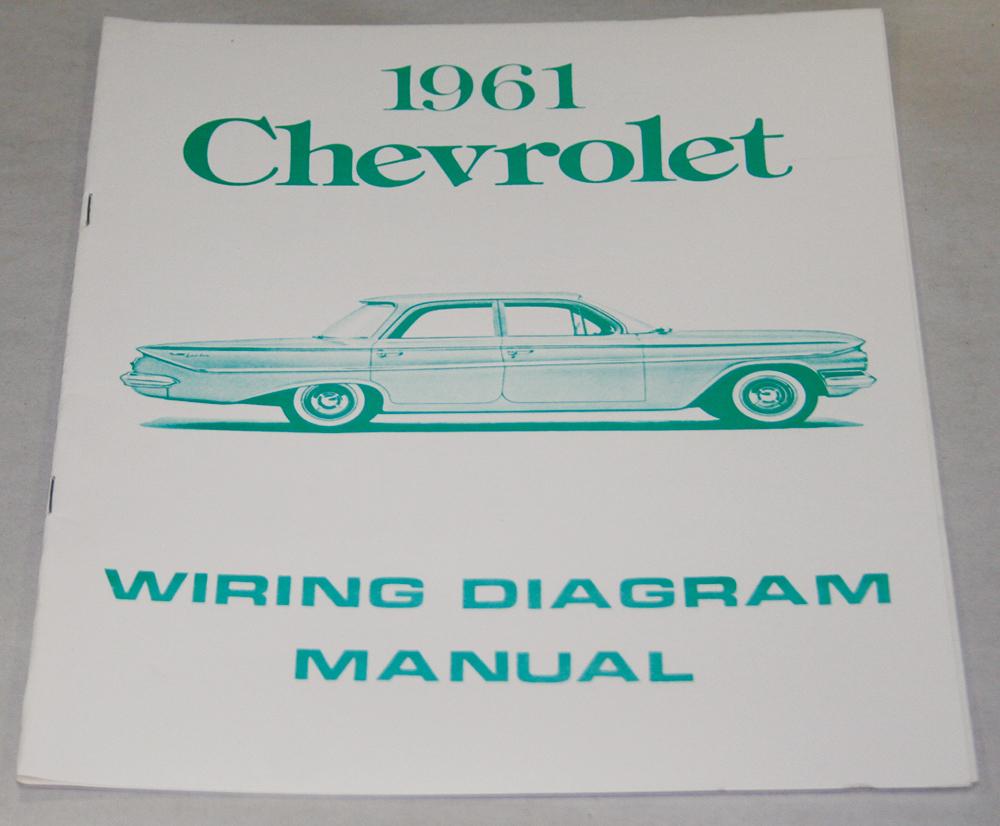 medium resolution of nos impala parts literature 1961 chevrolet wiring diagram1961 chevrolet wiring diagram manual nos