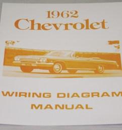 nos impala parts literature 1962 chevrolet wiring diagram1962 chevrolet wiring diagram manual nos  [ 1000 x 849 Pixel ]