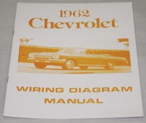 NOS Impala Parts :: Literature :: 1962 CHEVROLET WIRING