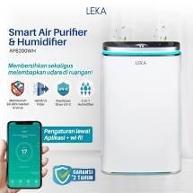 air purifier leka AP8200WH dengan humidifier