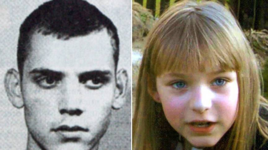 Neonazi Uwe Böhnhardt and the murdered girl Peggy, EPA photo