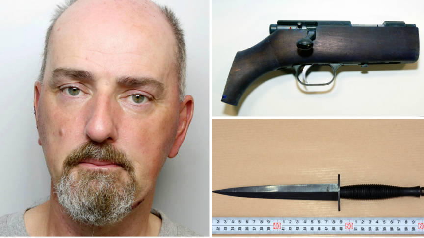 Thomas Mair and the weapons of the Jo Cox murder