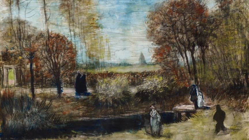 Van Gogh's watercolour bought by museum
