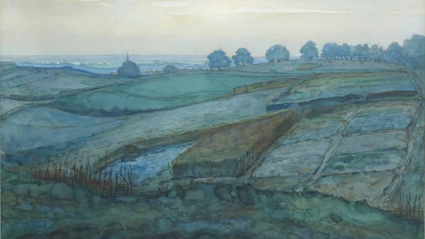 Mondriaan's Landscape near Arnhem, photo Christiie's images limited
