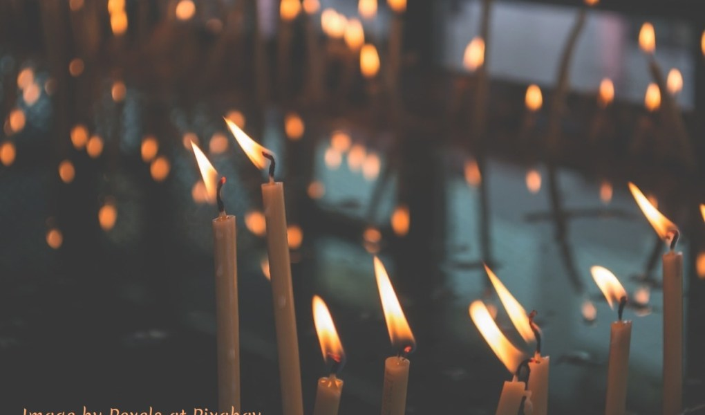 Many candles light my way