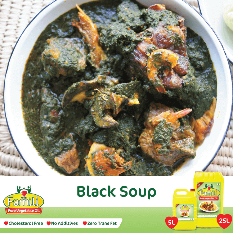 black soup recipe