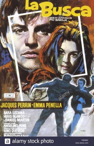 La busca-1966-Cartel