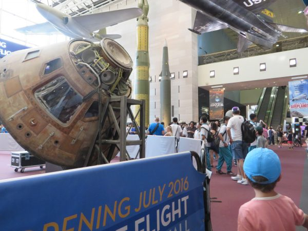 Acceso al Smithsonian Air & Space Museum
