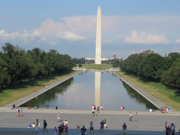 El atardecer regala imágenes preciosas del Capitolio