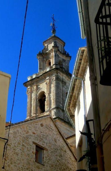 Campanario de la iglesia de Bocairent